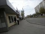Фоткались по дороге домой, шли пешком с России)) С парада На 9 мая:3