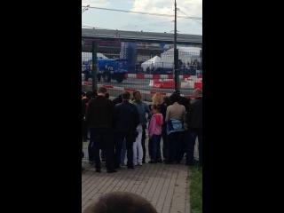 Kamaz drift. Kazan city racing