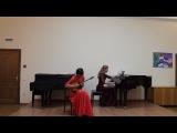 И. Тамарин. Соната для домры с фортепиано (финал)